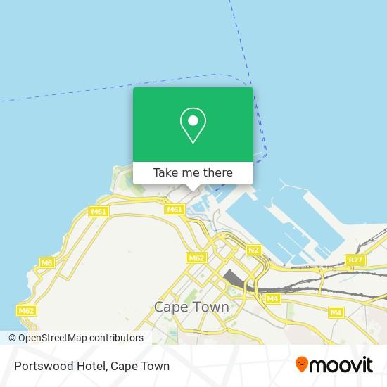 Portswood Hotel map