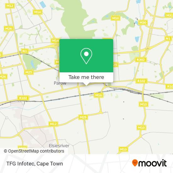 TFG Infotec map