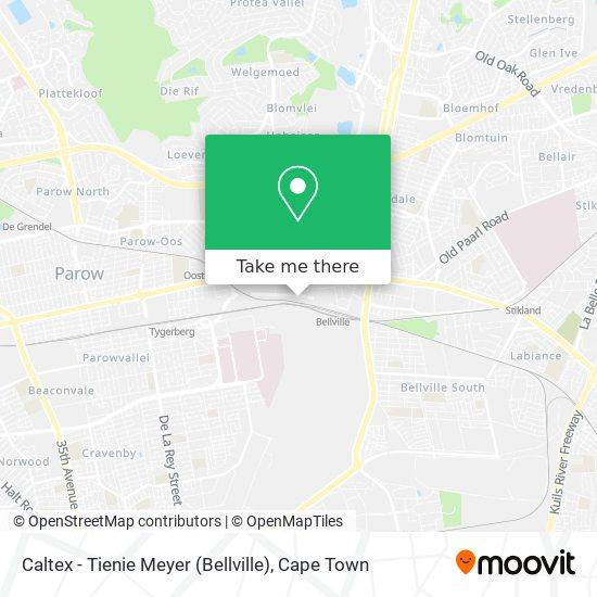 Caltex - Tienie Meyer (Bellville) map