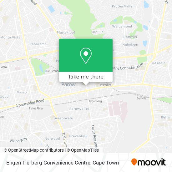 Engen Tierberg Convenience Centre map