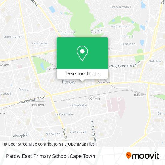 Parow East Primary School map