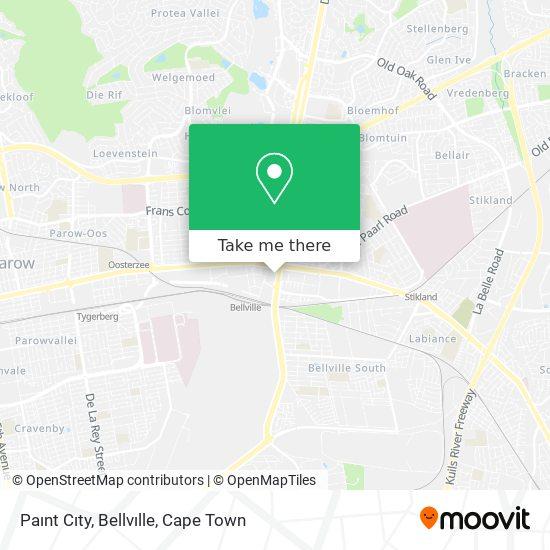 Paınt Cıty, Bellvılle map