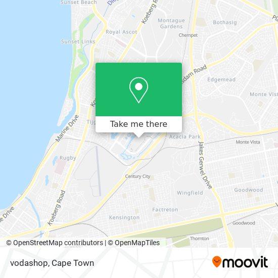 vodashop map