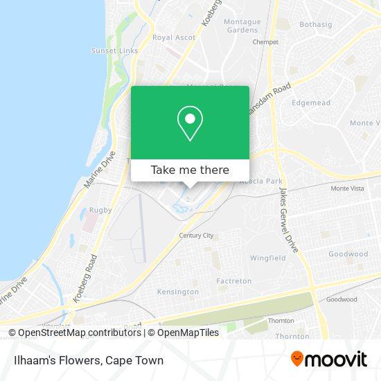 Ilhaam's Flowers map