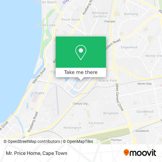 Mr. Price Home map