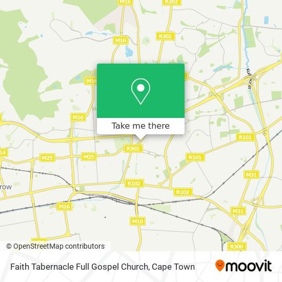 Faith Tabernacle Full Gospel Church map
