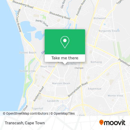 Transcash map