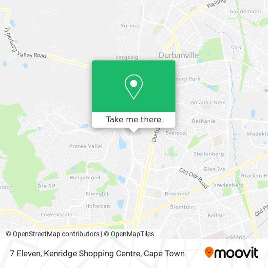 7 Eleven, Kenridge Shopping Centre map