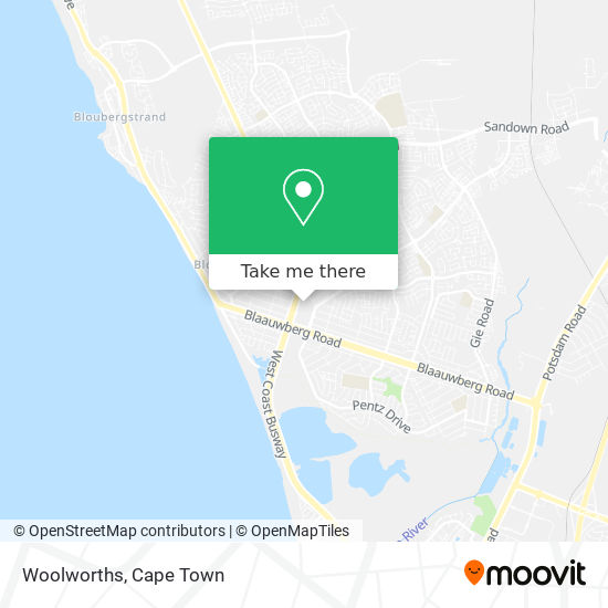 Woolworths map