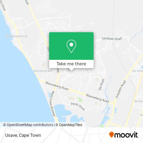 Usave map