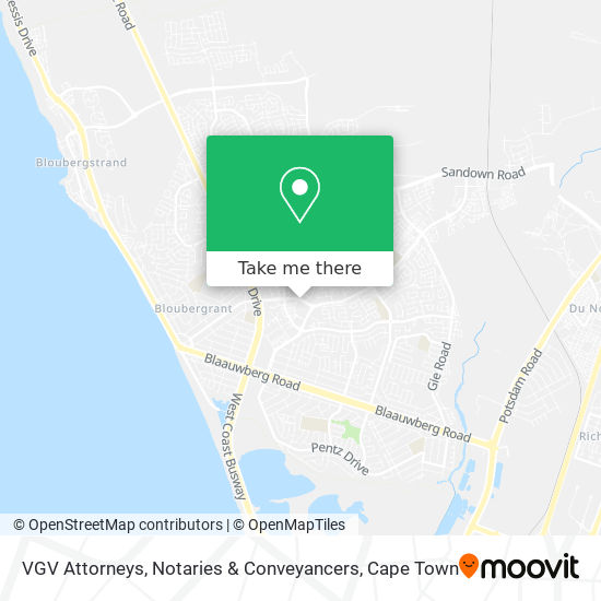 VGV Attorneys, Notaries & Conveyancers map