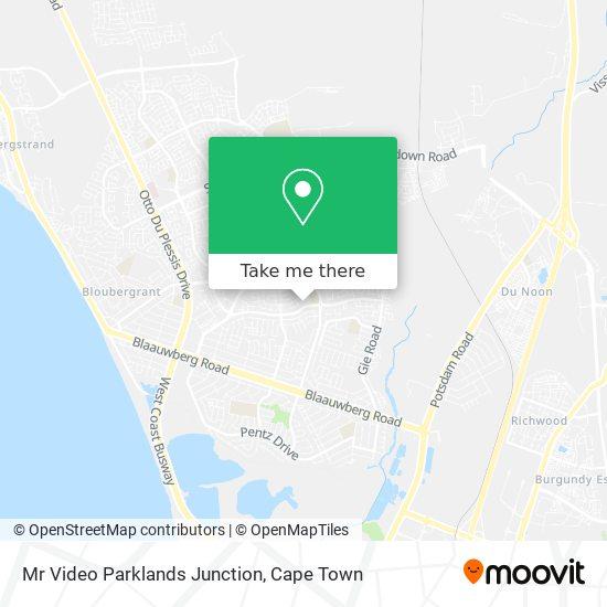 Mr Video Parklands Junction map
