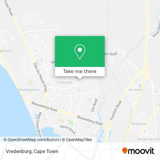 Vredenburg map
