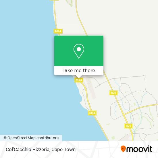Col'Cacchio Pizzeria map