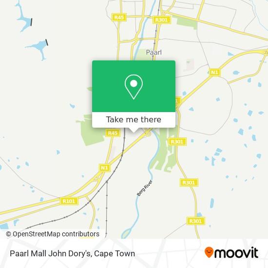 Paarl Mall John Dory's map