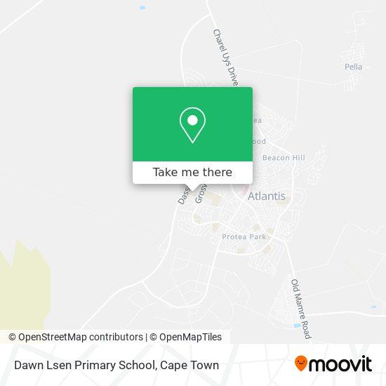 Dawn Lsen Primary School map