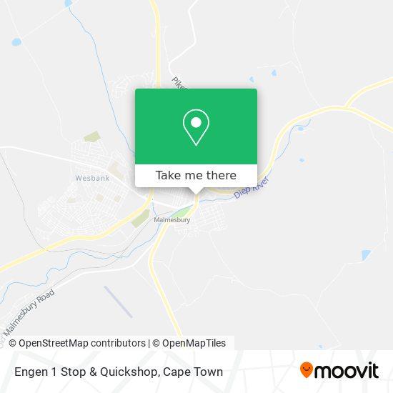 Engen 1 Stop & Quickshop map