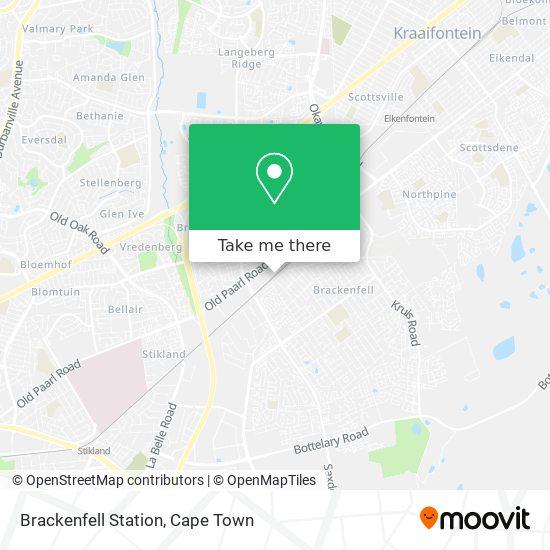 Brackenfell Station map