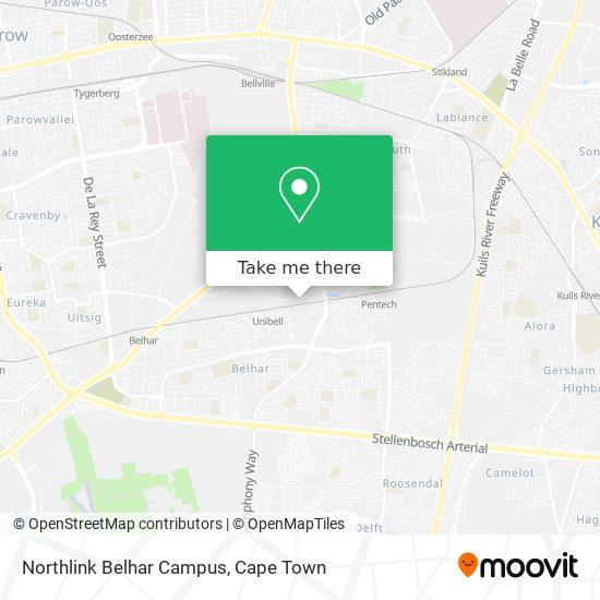 Northlink Belhar Campus map