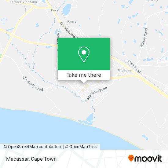 Macassar map