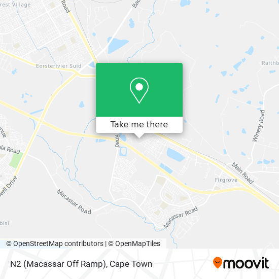 N2 (Macassar Off Ramp) map