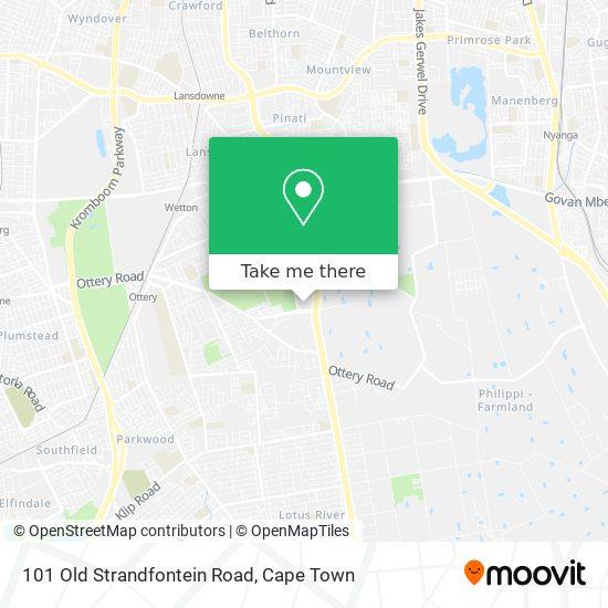 101 Old Strandfontein Road map