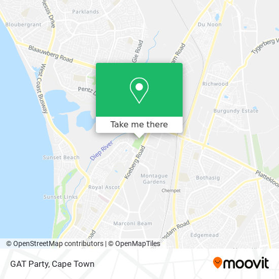 GAT Party map