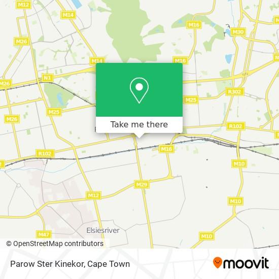 Parow Ster Kinekor map