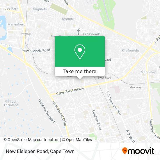 New Eisleben Road map