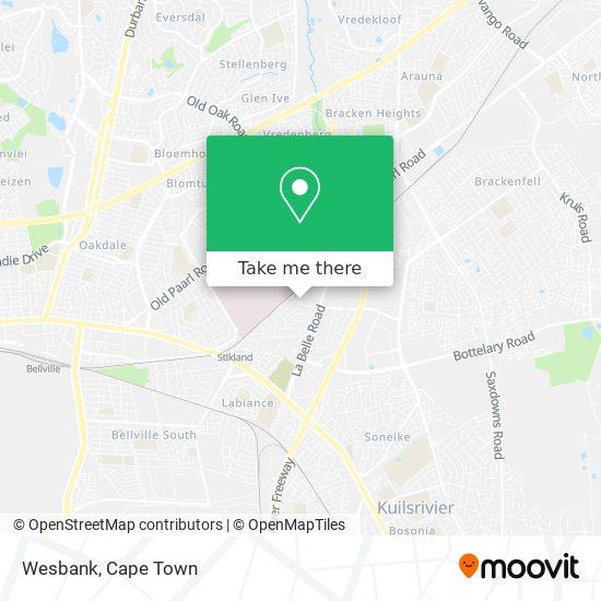 Wesbank map