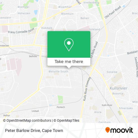 Peter Barlow Drive map