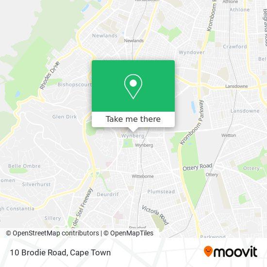 10 Brodie Road map