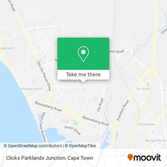 Clicks Parklands Junction map