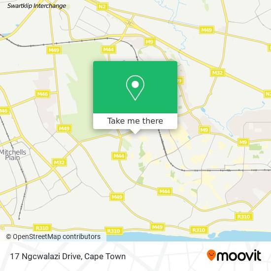 17 Ngcwalazi Drive map