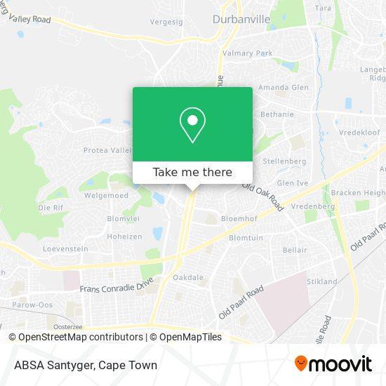 ABSA Santyger map