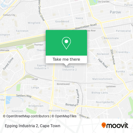 Epping Industria 2 map