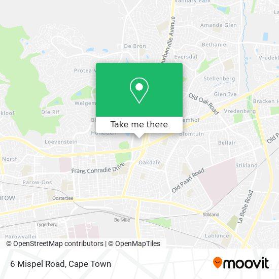 6 Mispel Road map