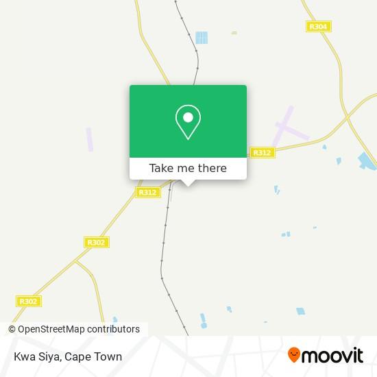 Kwa Siya map