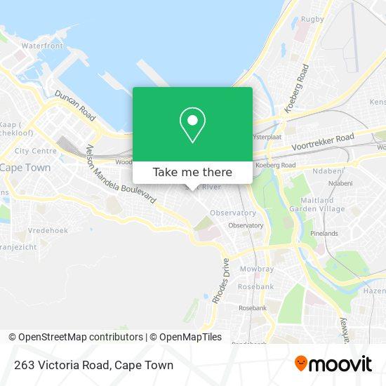263 Victoria Road map