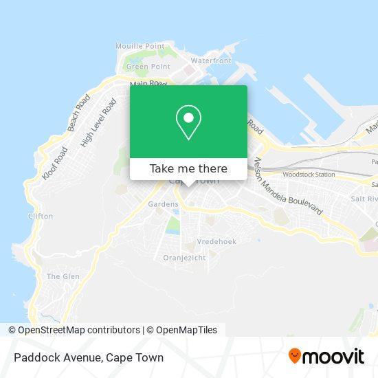 Paddock Avenue map