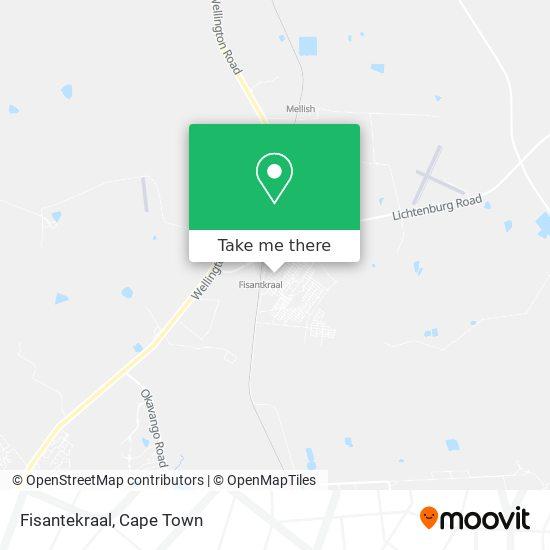 Fisantekraal map