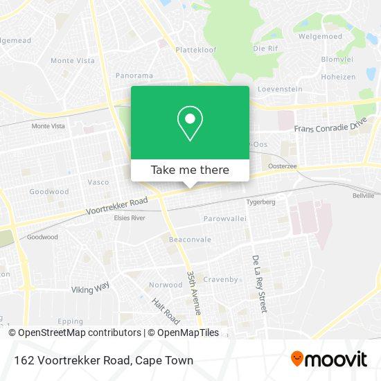 162 Voortrekker Road map