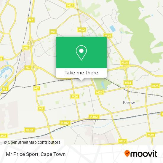 Mr Price Sport map