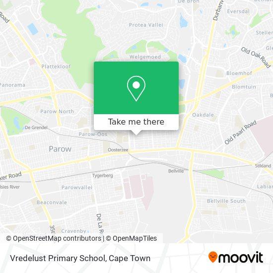 Vredelust Primary School map