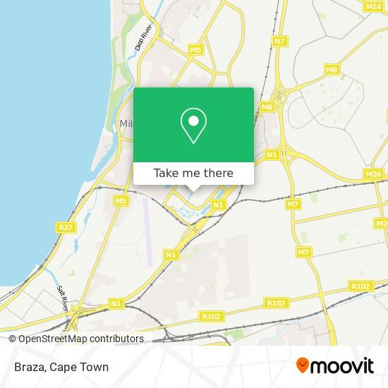 Braza map