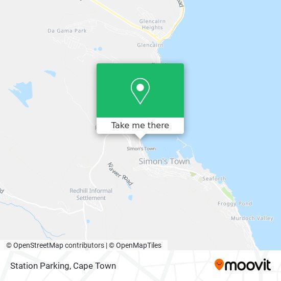 Station Parking map