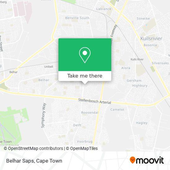 Belhar Saps map