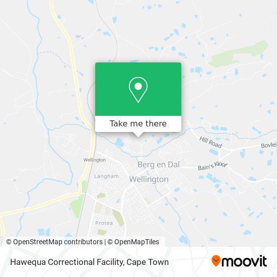 Hawequa Correctional Facility map