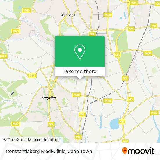 Constantiaberg Medi-Clinic map