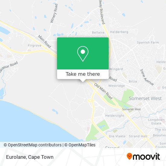 Eurolane map